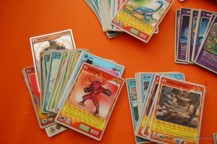 Trading Cards: LOTE DE 133 CROMOS INVIZIMALS TODOS DISTINTOS - COLT, L MAX, MAX, PUP, AMIGO Y EQUIPO CAZADOR,VECTOR - Foto 3 - 47346138