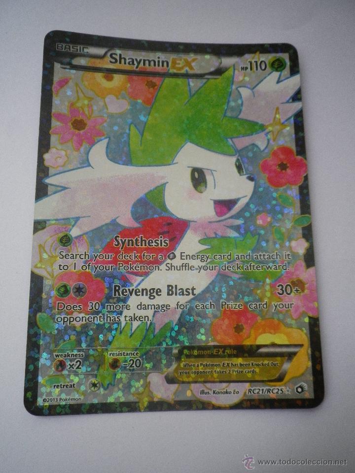 Carta Pokemon Shaymin Ex Muy Rara En Ingles Buy Old Trading Cards