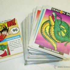 Trading Cards: DRAGON BALL ESTE LOTE 89 CARDS DIFERENTES,TAMBIÉN SUELTAS,MIRA EL LISTADO,ACTUALIZADO 09-11-2018. Lote 49273391