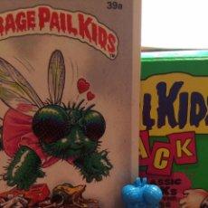 Trading Cards: GARBAGE PAIL KIDS - LA PANDILLA BASURA - MINIKINS - BUGGI BETTY (AZUL). Lote 54951857
