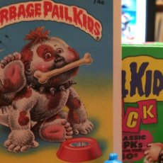 Trading Cards: GARBAGE PAIL KIDS - LA PANDILLA BASURA - MINIKINS - MARK BARK (AZUL). Lote 49489092