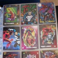 Trading Cards: TRADING CARD DEDICADO A DAREDEVIL - LOTE DE 9 TRADINGS CARDS. Lote 49638117