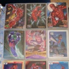 Trading Cards: TRADING CARD DEDICADO A DAREDEVIL - LOTE DE 9 TRADINGS CARDS. Lote 49638284