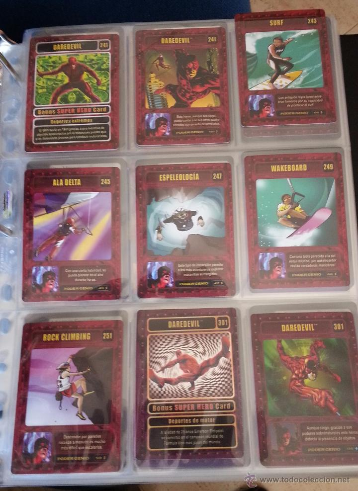18 TRADING CARD CARTAS GENIO CARDS - LOTE DAREDEVIL ELEKTRA (Coleccionismo - Cromos y Álbumes - Trading Cards)