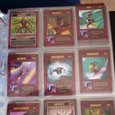 Trading Cards: 18 TRADING CARD CARTAS GENIO CARDS - LOTE DAREDEVIL ELEKTRA. Lote 49638425