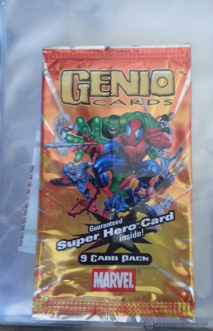 Trading Cards: 18 TRADING CARD CARTAS GENIO CARDS - LOTE DAREDEVIL ELEKTRA - Foto 3 - 49638425