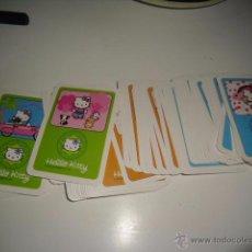 Trading Cards: HELLO KITTY LOTE DE 73 CARTAS O FICHAS NO SE LO QUE ES SI NAIPES O CROMOS. Lote 49929919