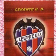 Cartas Colecionáveis: MEGACRACKS 2004-05 145 ESCUDO LEVANTE BRILLANTE ESPEJO PANINI SPORTS LFP. Lote 50082940