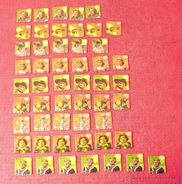 Lote De 52 Staks De Frigo De Shrek 2 Sold Through Direct Sale 50734787