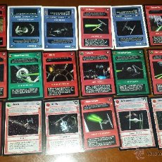 Trading Cards: STAR WARS CCG 18 CARTAS. Lote 50980143