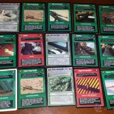 Trading Cards: STAR WARS CCG 15 CARTAS ARMAS. Lote 50980173