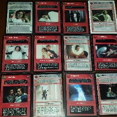 Trading Cards: STAR WARS CCG 12 CARTAS LEIA. Lote 50980230
