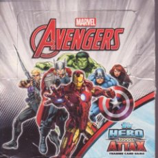 Trading Cards: TOPPS HERO ATTAX -- AVENGERS AGE OF ULTRON -- 125 CARDS DIFERENTES ENTRE EL Nº 49 Y EL Nº 176 . Lote 50992946