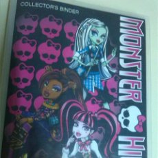 Trading Cards: MONSTER HIGH ALBUM DE 108 PHOTO CARDAS COMPLETO. Lote 50998485