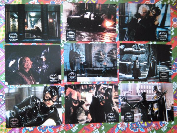 BATMAN RETURN MICHELLE PFEIFFER CATWOMAN AMERICAN TRADING CARDS (Coleccionismo - Cromos y Álbumes - Trading Cards)