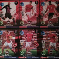 Trading Cards: TEAM MATE AUSTRIA OSTERREICH ROAD TO EURO 2016 ADRENALYN PANINI (6 FICHAS) 136 137 138 139 140 141. Lote 53811581