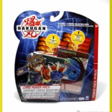 Cartes à Échanger: BAKUGAN BATTLE BRAWLERS - POWER PACK PYRUS - 10 CARDS - CARTAS ALEATORIAS - NUEVO. Lote 211874220
