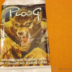 Trading Cards: TRADING CARDS SOBRE VACÍO MIKE PLOOG. Lote 54186051