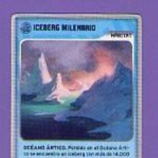Trading Cards: 438 ICEBERG MILENARIO HÁBITAT INVIZIMALS DESAFÍOS OCULTOS 2009-2013 PANINI 2009 2013 09 13. Lote 55065638