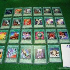 Trading Cards: LOTE DE CARTAS YU-GI-OH EN INGLES DE KONAMI. Lote 55350308
