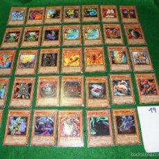 Trading Cards: LOTE DE CARTAS YU-GI-OH EN INGLES DE KONAMI. Lote 55350402