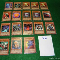 Trading Cards: LOTE DE CARTAS YU-GI-OH EN INGLES DE KONAMI 1ª EDICION. Lote 55350461