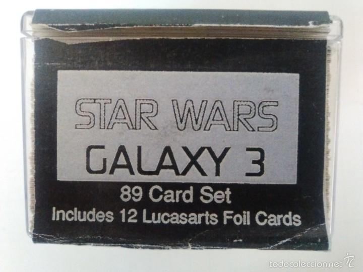 Trading Cards: TRADING CARDS STAR WARS GALAXY SERIE 3 COMPLETA (89 CARDS + 12 FOIL CARDS) topps - Foto 2 - 56010331