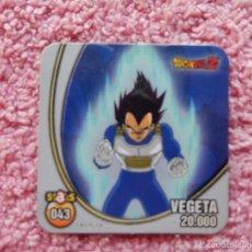 Trading Cards: DRAGON BALL Z 43 VEGETA STAKS IMANTADO PANINI 2009. Lote 182655042
