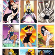 Trading Cards: WILDSTORM SWIMSUITE. 90 DE 99 TRADING CARDS. IMAGE. Lote 56827660