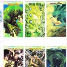 Trading Cards: DC COMICS VERTIGO TRADING CARDS. COLECCIÓN COMPLETA DE 90 CARDS. Lote 56828586