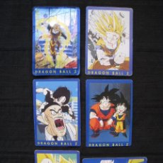 Trading Cards: LOTE 6 CROMOS TRADING CARDS - DRAGON BALL Z.. Lote 210137763