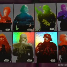 Trading Cards: STAR WARS ; JOURNEY TO THE FORCE AWAKENS. SUBSET FOIL CARDS (SILHOUETTE). Lote 57555224