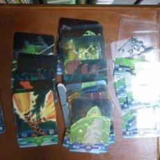 Trading Cards: LOTE DE LAMINCARDS DE BEN 10 DE DIFERENTES COLECCIONES (CARTAS Y LAMINCARDS). Lote 57940282