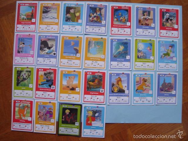 23 CARTAS DE LOS CLÁSICOS DE DISNEY. COLECCIÓN HIPERCOR (Coleccionismo - Cromos y Álbumes - Trading Cards)