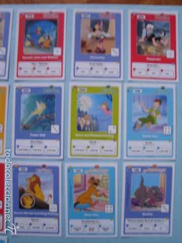Trading Cards: 23 CARTAS DE LOS CLÁSICOS DE DISNEY. COLECCIÓN HIPERCOR - Foto 3 - 57958897
