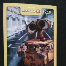 Trading Cards: 46 WALL-E - WALL-E - DISNEY PIXAR - HIPERCOR. Lote 60731763