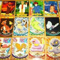 Trading Cards: LOTE DE 32 CARDS O TARJETAS RÍGIDAS DE POKEMON, SERIE ORIGINAL, PRIMERA TEMPORADA. Lote 61086595