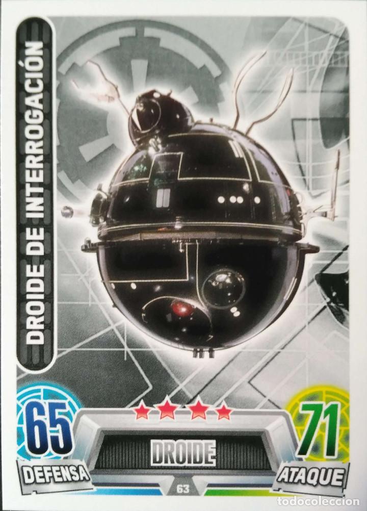 63 droide de interrogacion droide imperio comprar trading cards antiguas en. Black Bedroom Furniture Sets. Home Design Ideas