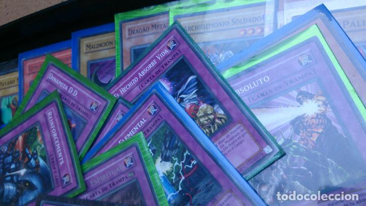 Trading Cards: Lote 80 cartas Yugioh - Foto 3 - 63320904