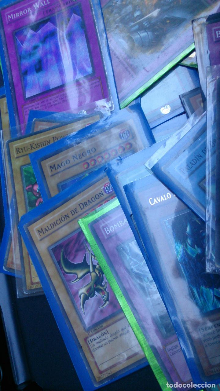 Trading Cards: Lote 80 cartas Yugioh - Foto 4 - 63320904