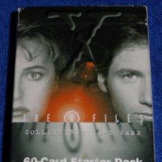 Trading Cards: EXPEDIENTE X - TOPPS ¡COLECCIÓN COMPLETA!. Lote 64794831