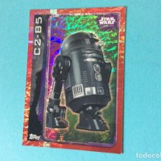 Trading Cards: STAR WARS-ROGUE ONE-TOPPS 2016-CARTA HOLOGRAFICAS - C2 - B5 - Nº 188 . Lote 85107684