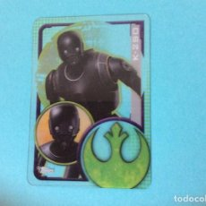 Trading Cards: STAR WARS-ROGUE ONE-TOPPS 2016 - CARTAS PLASTICAS - K - 2SO - Nº 196. Lote 85107943