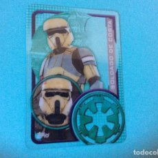 Trading Cards: STAR WARS-ROGUE ONE-TOPPS 2016 - CARTAS PLASTICAS - SOLDADO DE COSTA - Nº 201. Lote 85108046