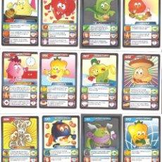 Trading Cards: LOS SUPER SALUDABLES. COLECCIÓN COMPLETA DE 144 CROMOS SIN ÁLBUM. Lote 65280255