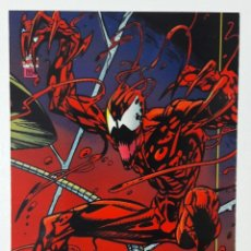 Trading Cards: THE AMAZING SPIDER-MAN FLEER 1994 CROMO 66 CARNAGE TRADING CARD. Lote 68841997