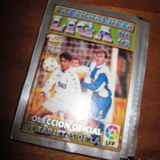 Trading Cards: LOTE 6 SOBRES DE TARJETAS LAS FICHAS DE LA LIGA 96 97. Lote 69611109