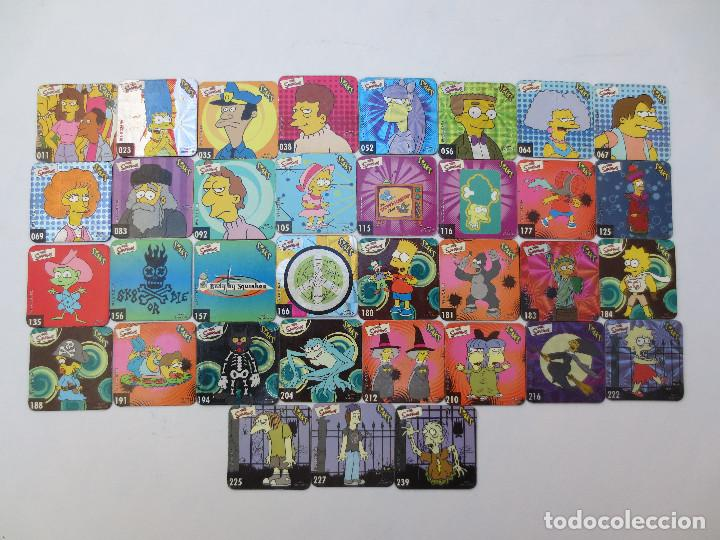 35 STAKS THE SIMPSONS (Coleccionismo - Cromos y Álbumes - Trading Cards)