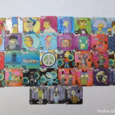 Trading Cards: 35 STAKS THE SIMPSONS. Lote 69635001
