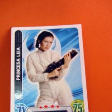 Trading Cards: PRINCESA LEIA 25 FORCE ATTAX STAR WARS TOPPS. Lote 70375529